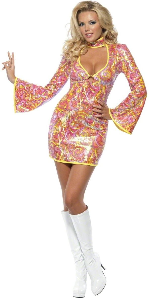 Home > 60's Fancy Dress > Ladies 60's Fancy Dress > Fever Go Go 60's