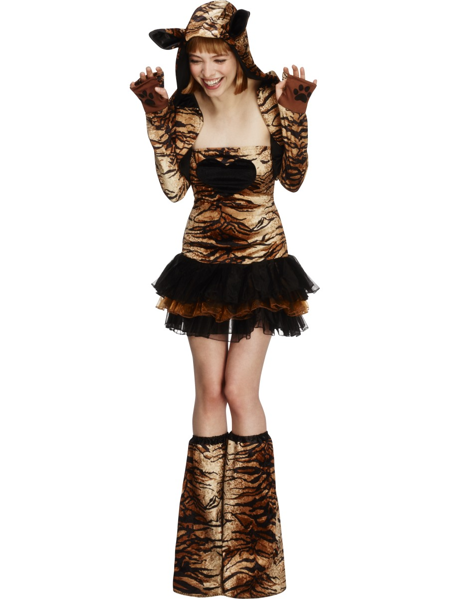 4ad835b37bd Adult Fever Tiger Costume - 29495 - Fancy Dress Ball