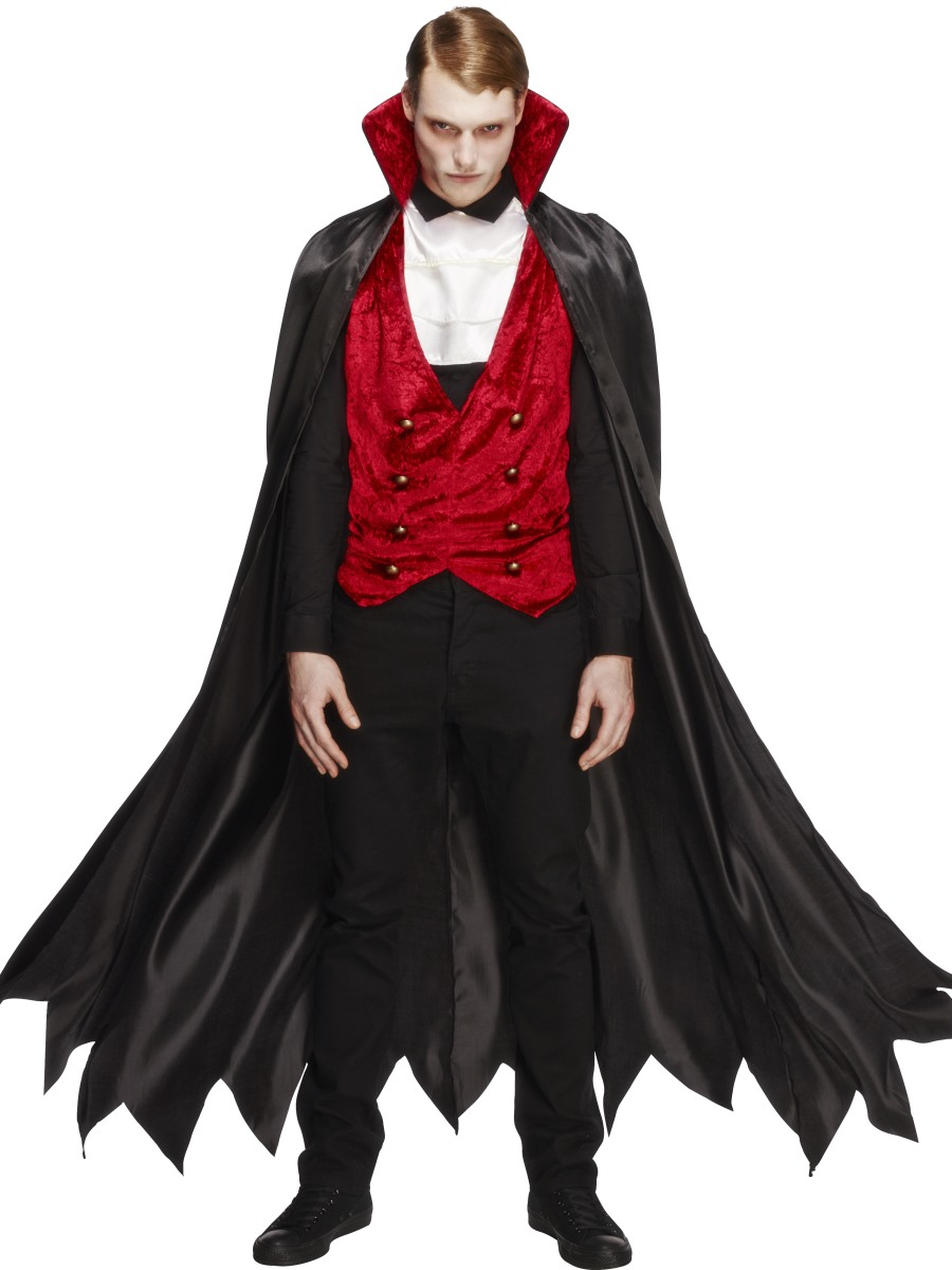 adult fever vampire costume 29991 fancy dress ball. Black Bedroom Furniture Sets. Home Design Ideas