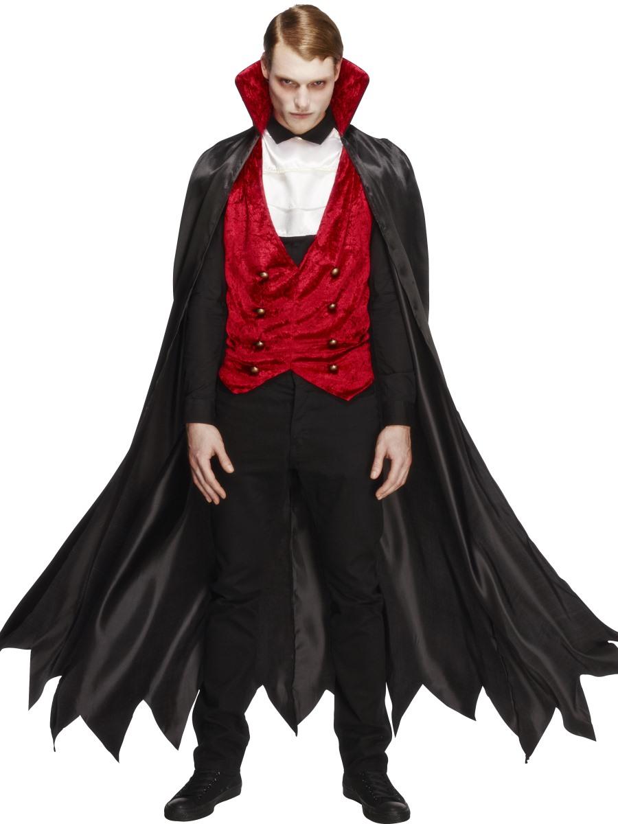 Костюм на хэллоуин своими руками вампира