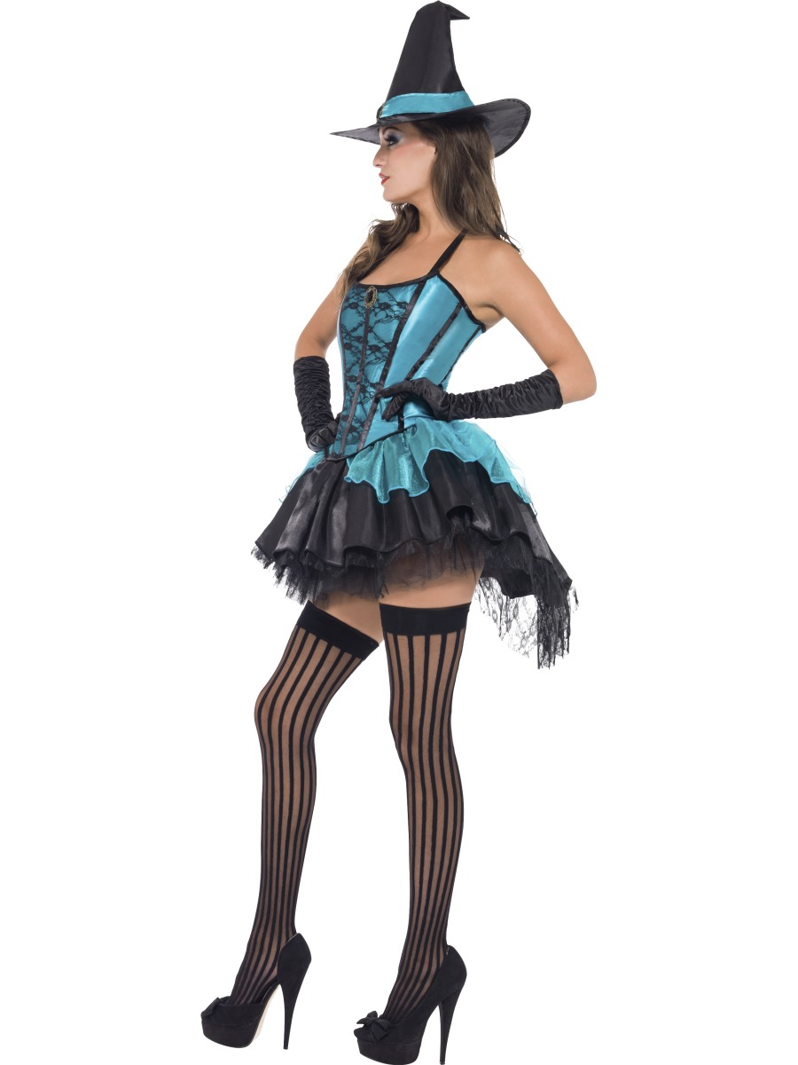 Adult Fever Witch Devine Costume - 41109 - Fancy Dress Ball