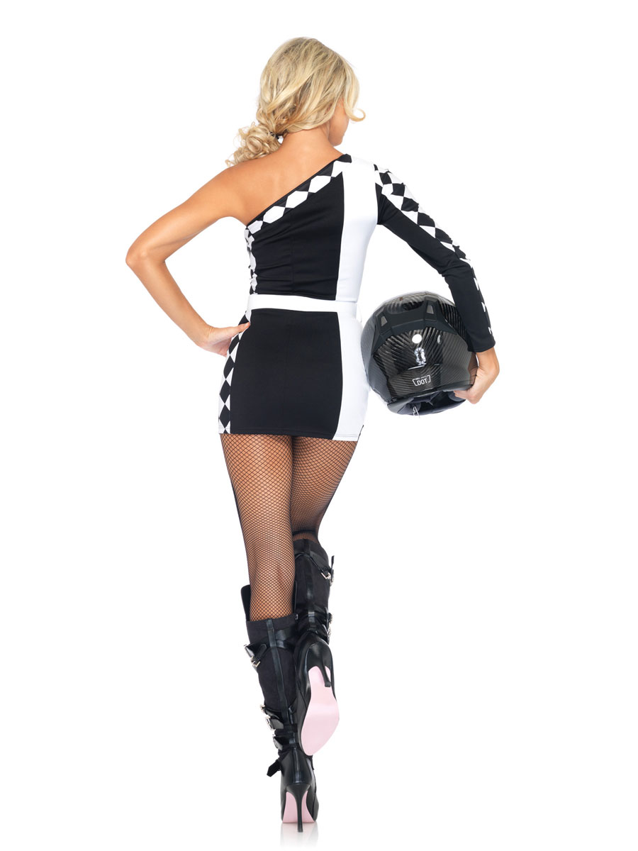 Adult First Place Racer Costume 83944 Fancy Dress Ball