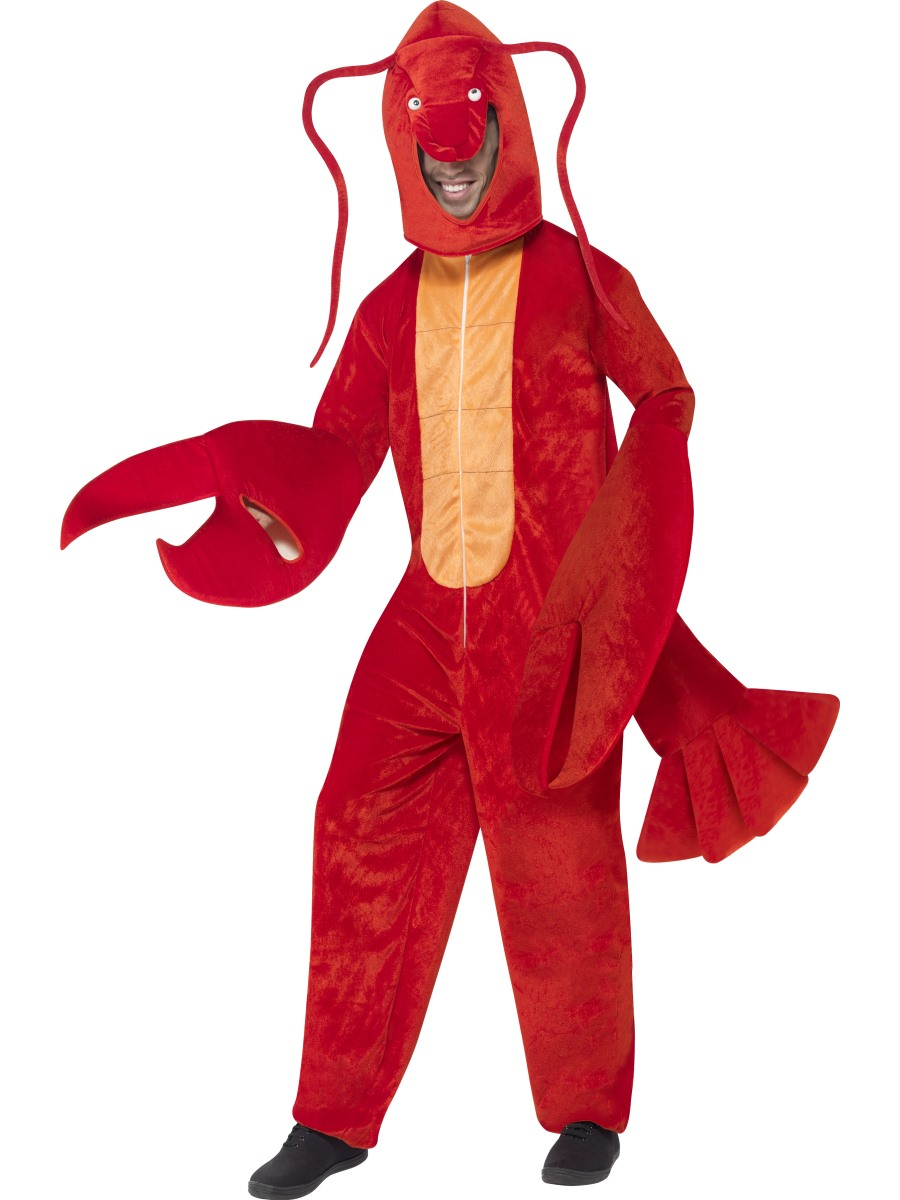 Adult Lobster Costume - 40091 - Fancy Dress Ball