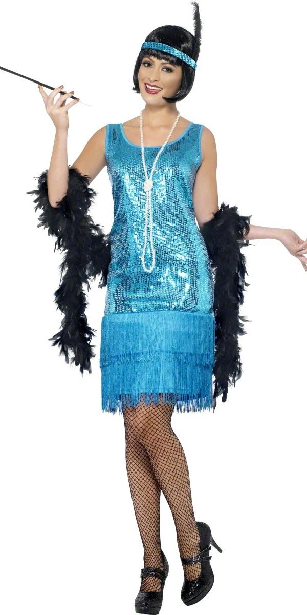 ... > Ladies Fancy Dress > Flapper Fancy Dress > Flirty Flapper Costume