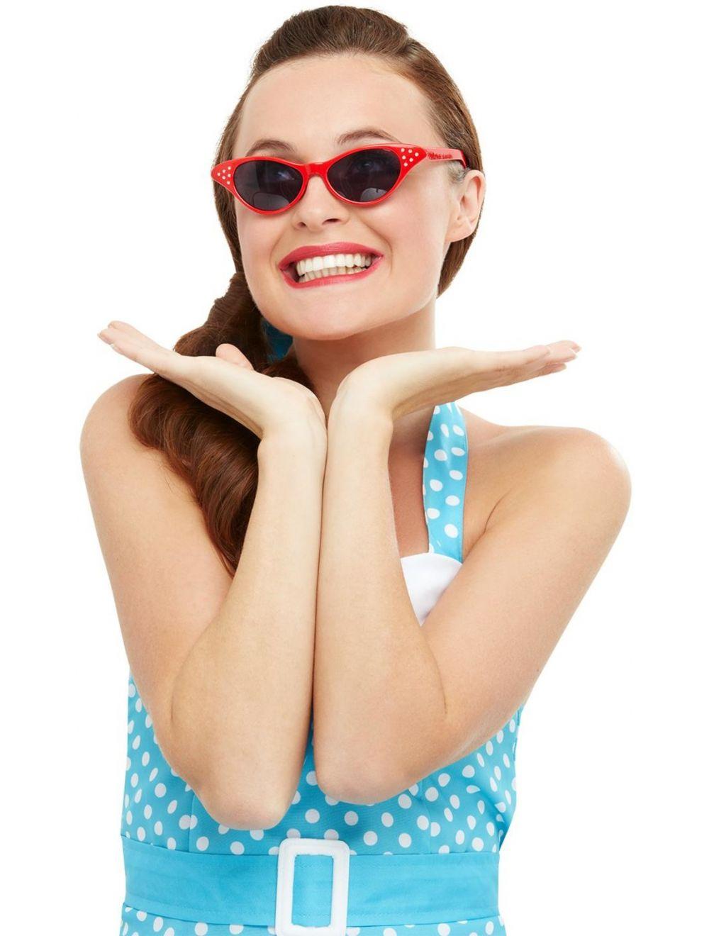 f88b276c80 Flyaway Style Rock and Roll Sunglasses - 50769 - Fancy Dress Ball