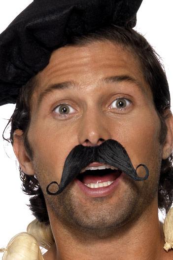 frenchman black moustache - 33403