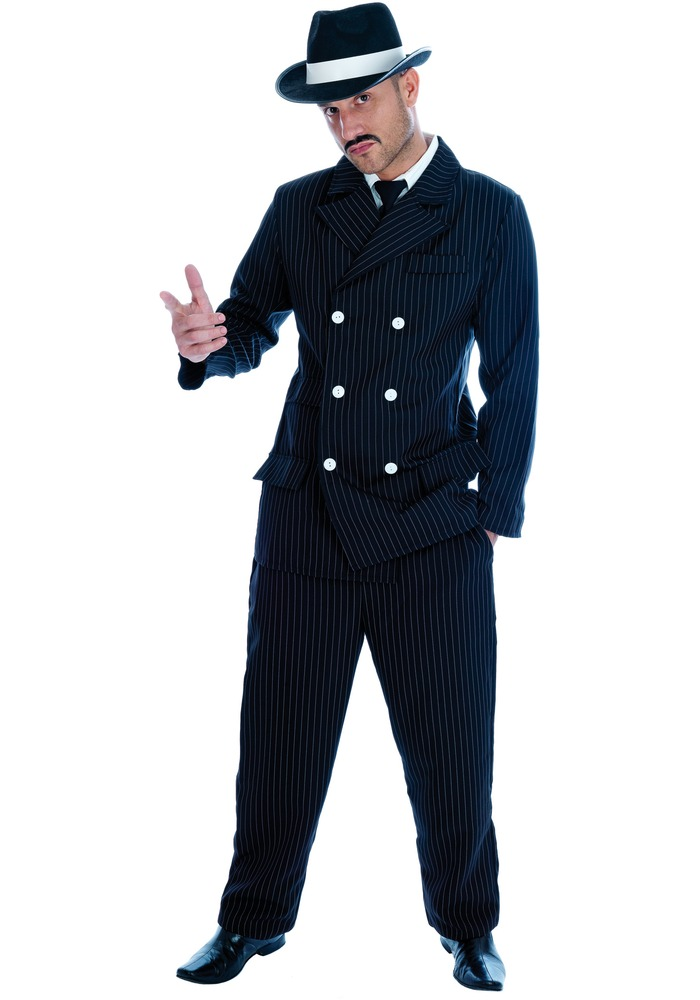 Adult Male Gangster Costume  sc 1 st  Fancy Dress Ball & Adult Male Gangster Costume - FS2440 - Fancy Dress Ball