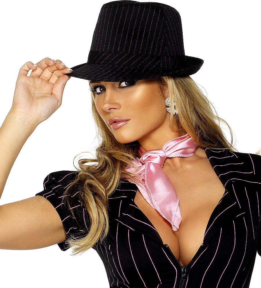 d87f2f1dd3312 Fever Gangster Tribly Hat - 34520 - Fancy Dress Ball
