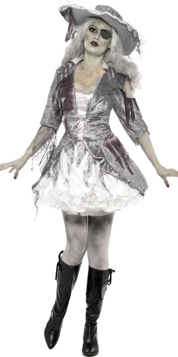 adult ghost ship pirate treasure costume 24362 fancy. Black Bedroom Furniture Sets. Home Design Ideas