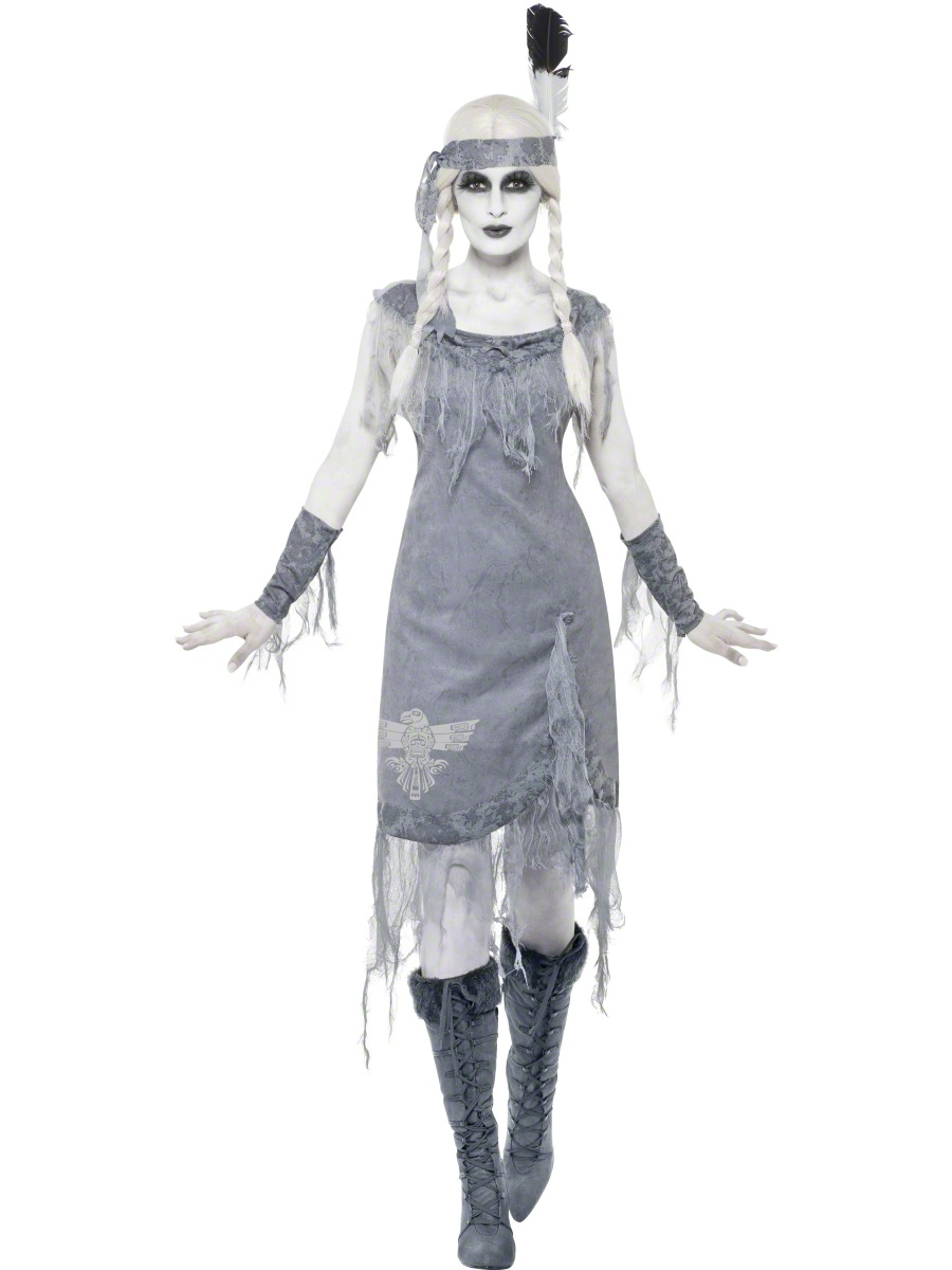 adult ghost town indian princess costume 11222 fancy dress ball. Black Bedroom Furniture Sets. Home Design Ideas