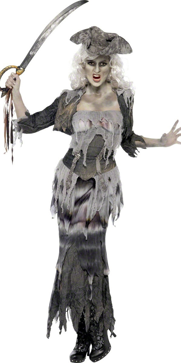 Adult Ghost Ship Ghoulina Costume · VIEW FULL IMAGE  sc 1 st  Fancy Dress Ball & Adult Ghost Ship Ghoulina Costume - 38888 - Fancy Dress Ball
