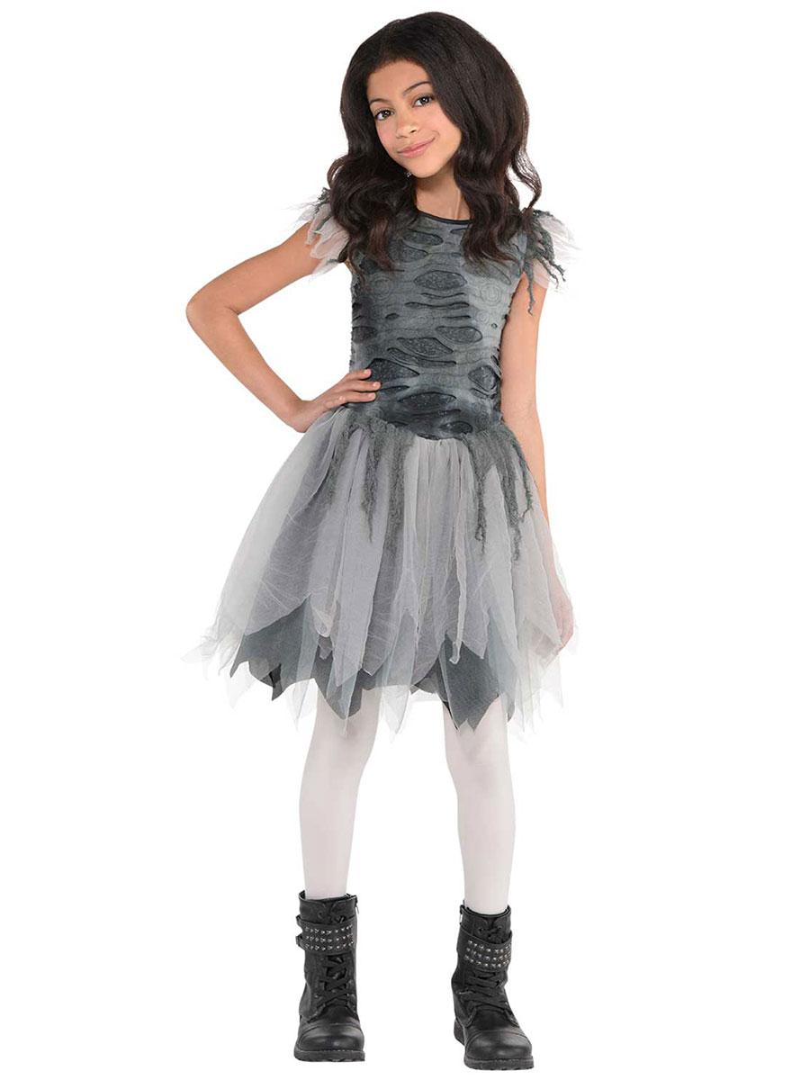 girls zombie dress 847436 55 fancy dress ball. Black Bedroom Furniture Sets. Home Design Ideas