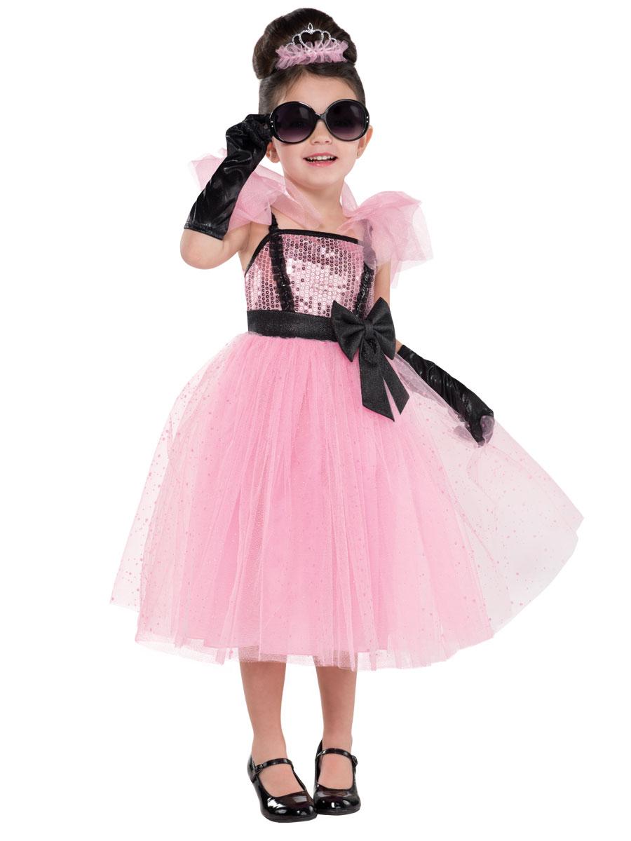 child glam princess audrey hepburn costume 997010 fancy dress ball. Black Bedroom Furniture Sets. Home Design Ideas