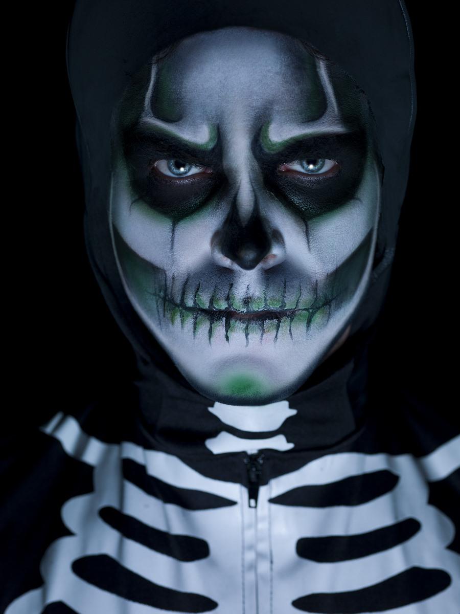 Glow In The Dark Skeleton Kit 43964 Fancy Dress Ball