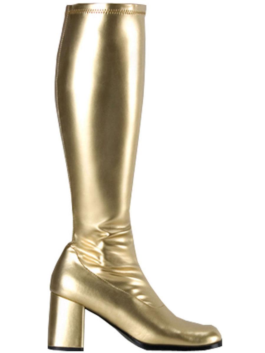Ladies Metallic Flatform Shoes