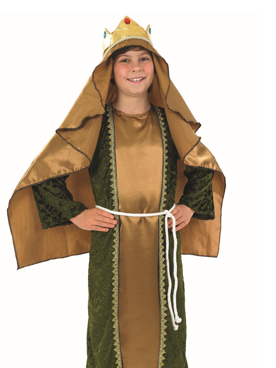 Child Gold Wise Man Costume