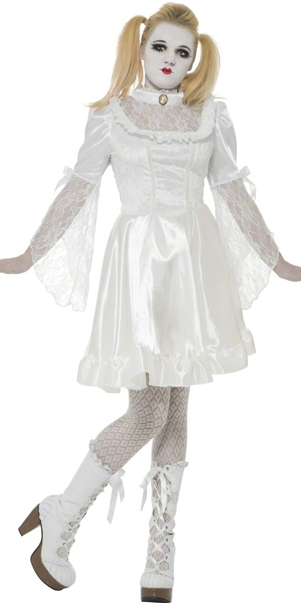 Gothic China Doll Costume - 29638 - Fancy Dress Ball
