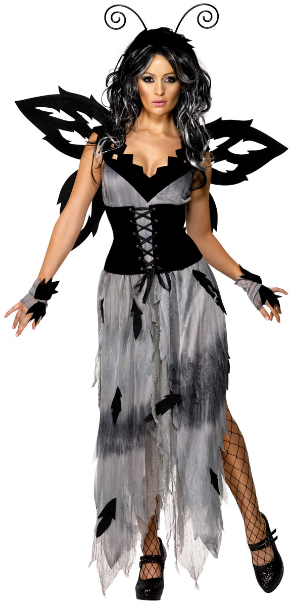 adult gothic manor sinister forest fairy costume 34455. Black Bedroom Furniture Sets. Home Design Ideas