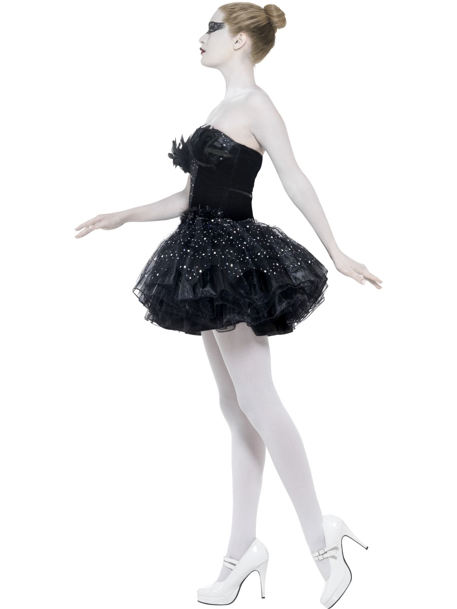 Adult Gothic Swan Masquerade Costume - 27313 - Fancy Dress ...