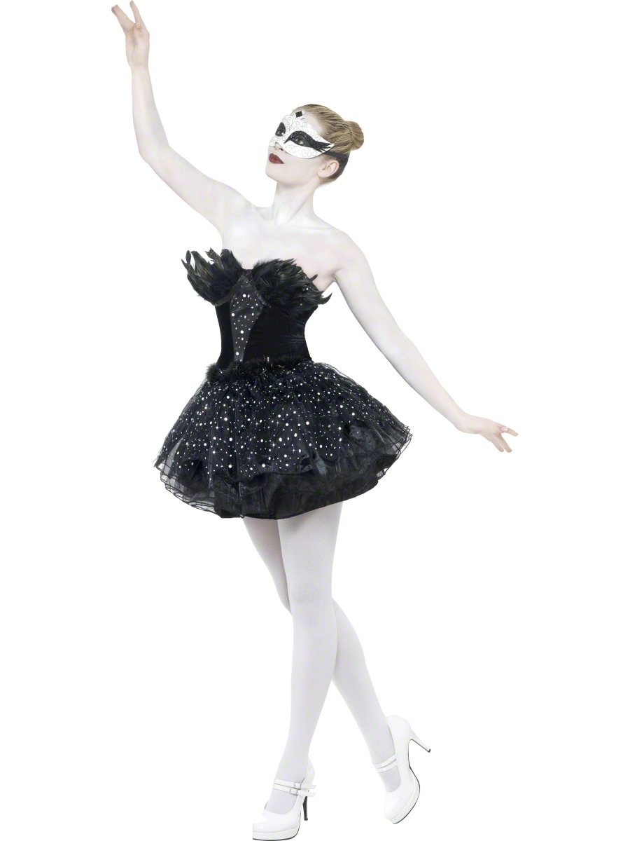 swan adult fancy dress ground