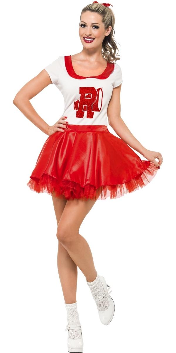 Adult Grease Sandy Cheerleader Costume 25873 Fancy