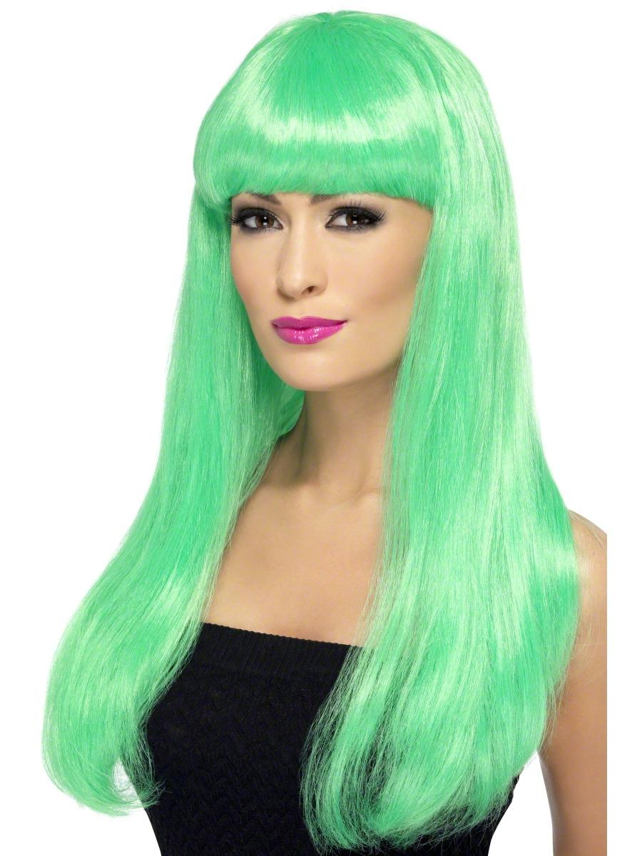 Green Babelicious Wig - 42418 - Fancy Dress Ball