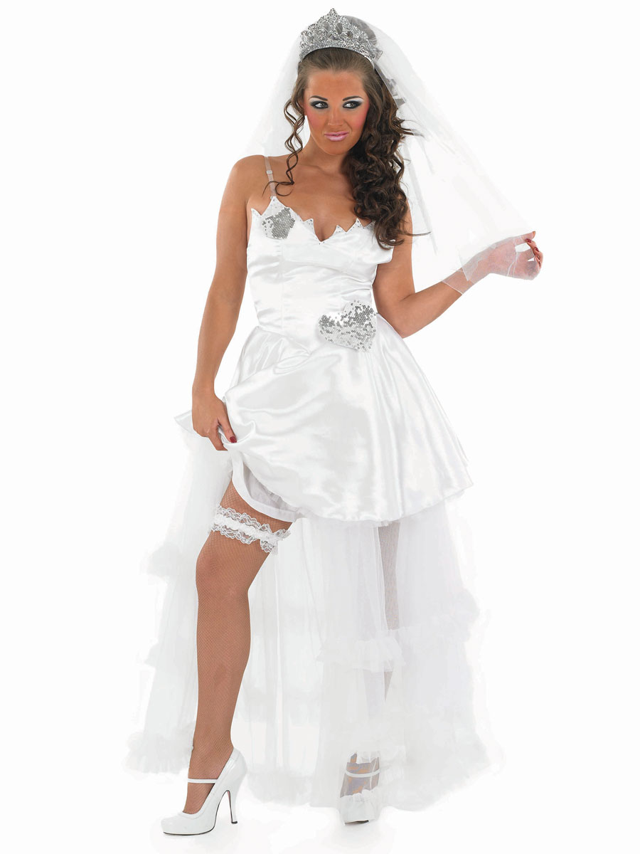 Adult gypsy bride wedding dress fs3239 fancy dress ball for Sexy wedding dress costume