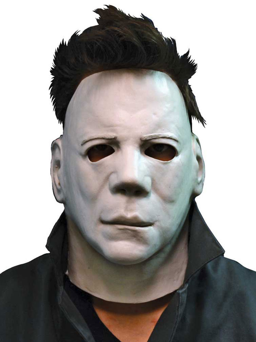 Michael Myers Face Mask Halloween II Movie Fancy Dress Adult Costume Accessory