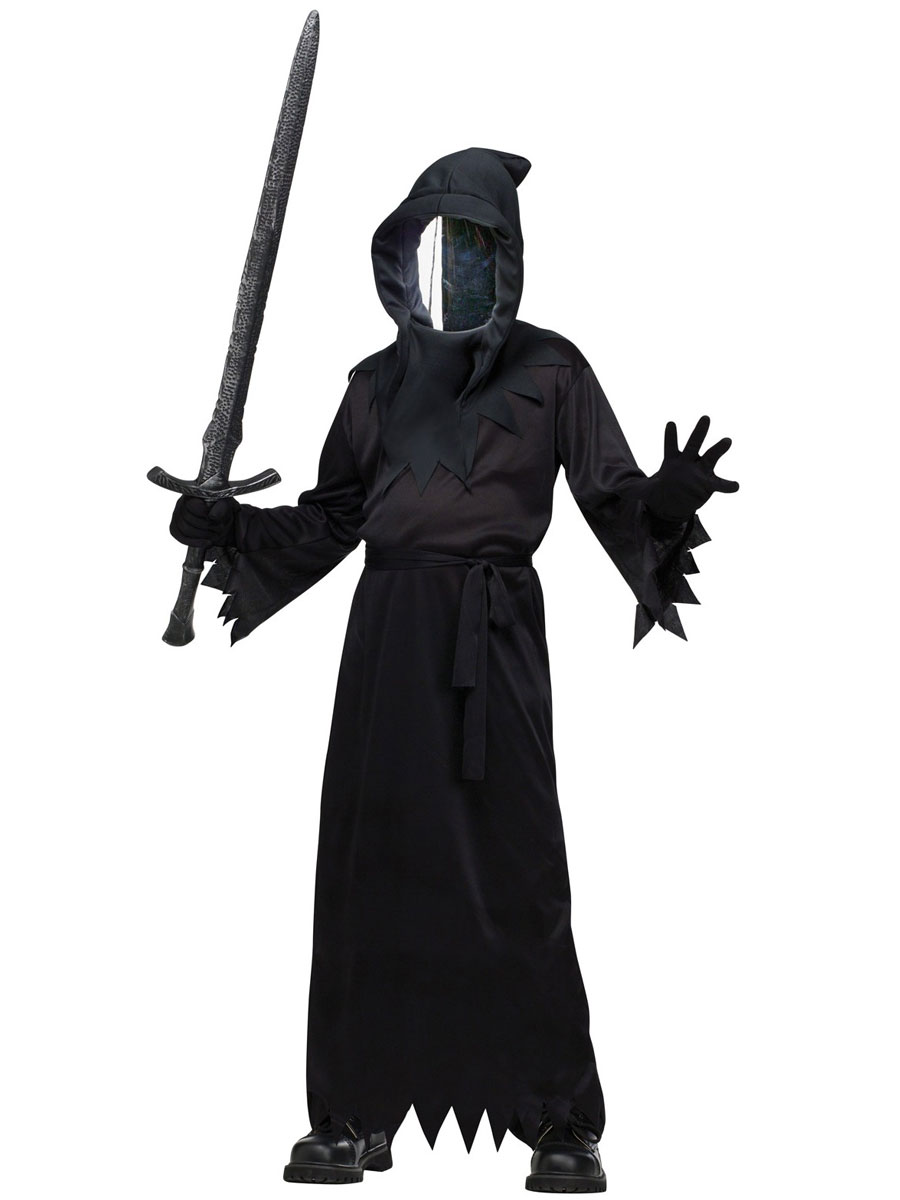 Child Haunted Mirror Ghoul Costume 131422 Fancy Dress Ball