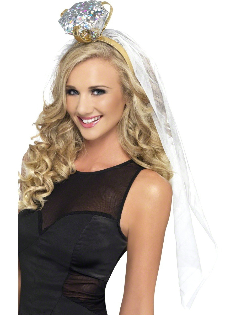 Home > Ladies Fancy Dress > Hen Party Accessories > Hen Night Veil