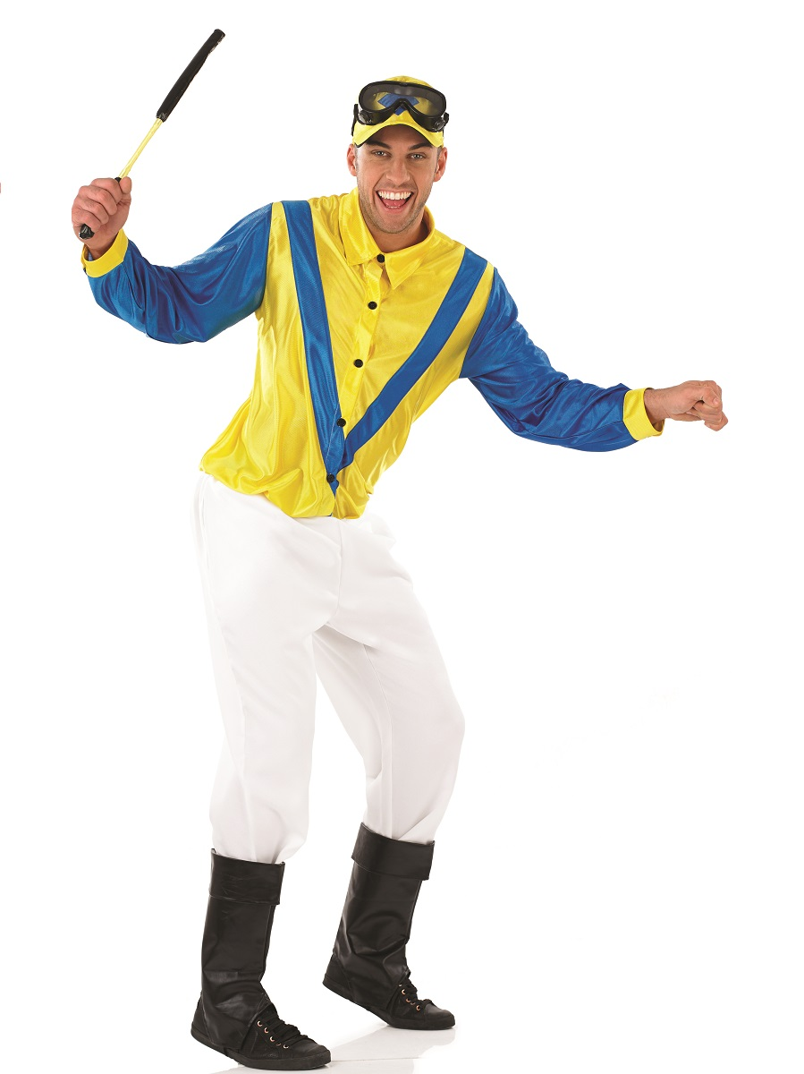 Adult Hi De Hi Jockey Fred Quilly Costume  sc 1 st  Fancy Dress Ball & Adult Hi De Hi Jockey Fred Quilly Costume - FS3706 - Fancy Dress Ball