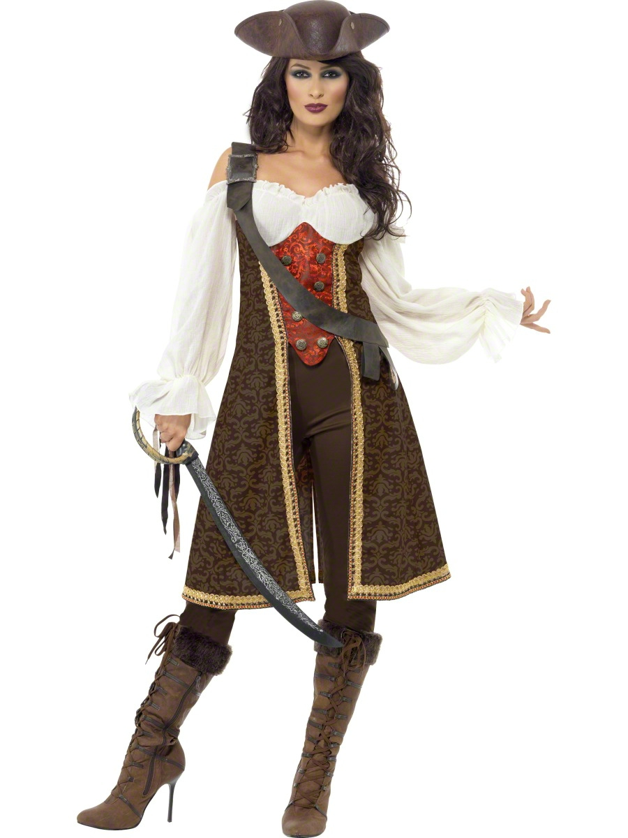 Adult Lassie Lady Pirate Costume - Party City