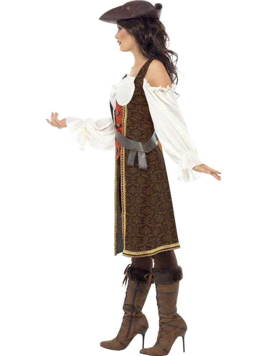 Adult high seas pirate wench costume 26225 fancy dress ball