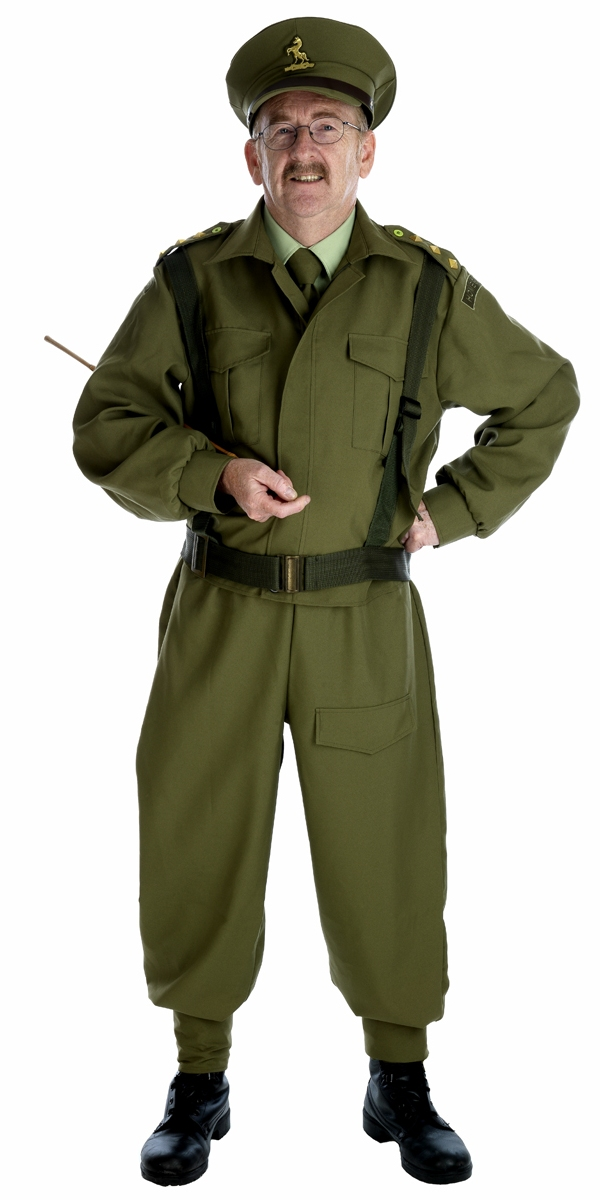 54de923156f Army General Costume & Image Is Loading CL825-Mens-WW2-Army-General ...
