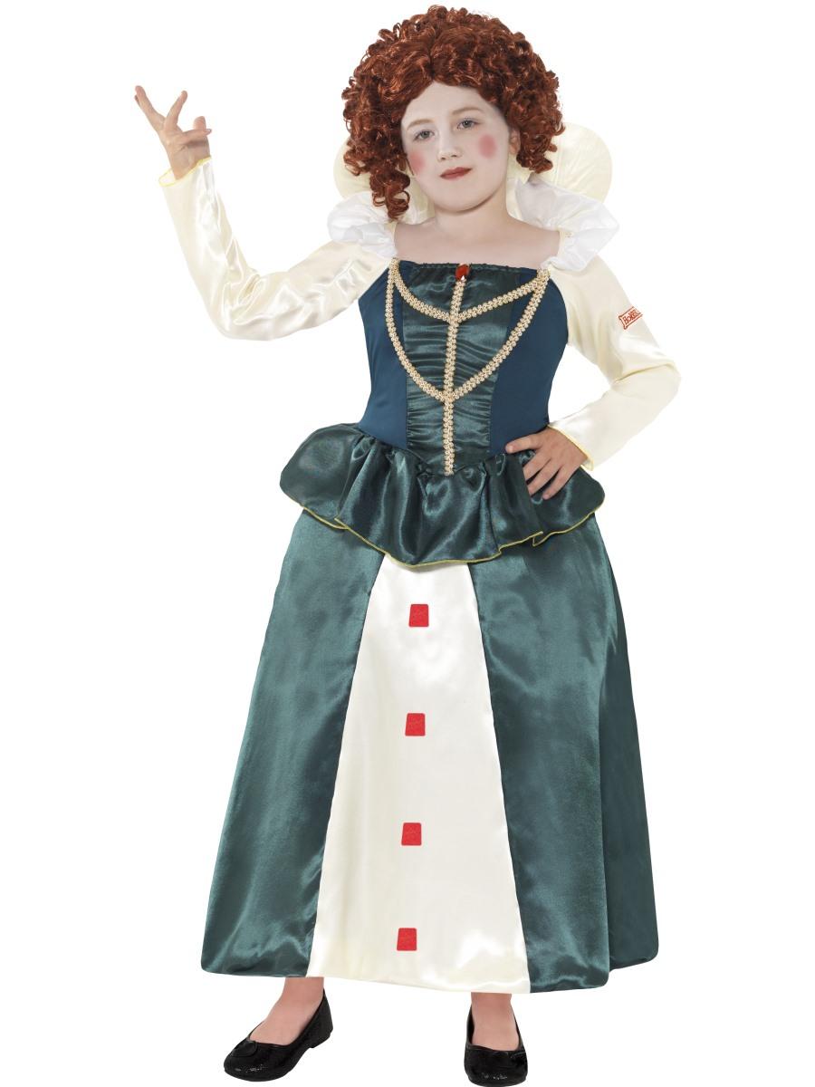 ... Histories Queen Elizabeth I Costume - 27024 - Fancy Dress Ball Young Queen Elizabeth 1 Dress