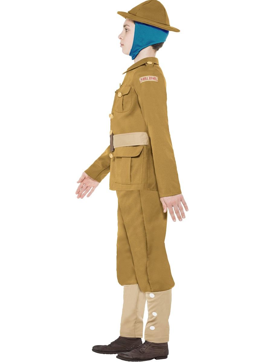 Child Horrible Histories Wwi Boy Costume 27037 Fancy