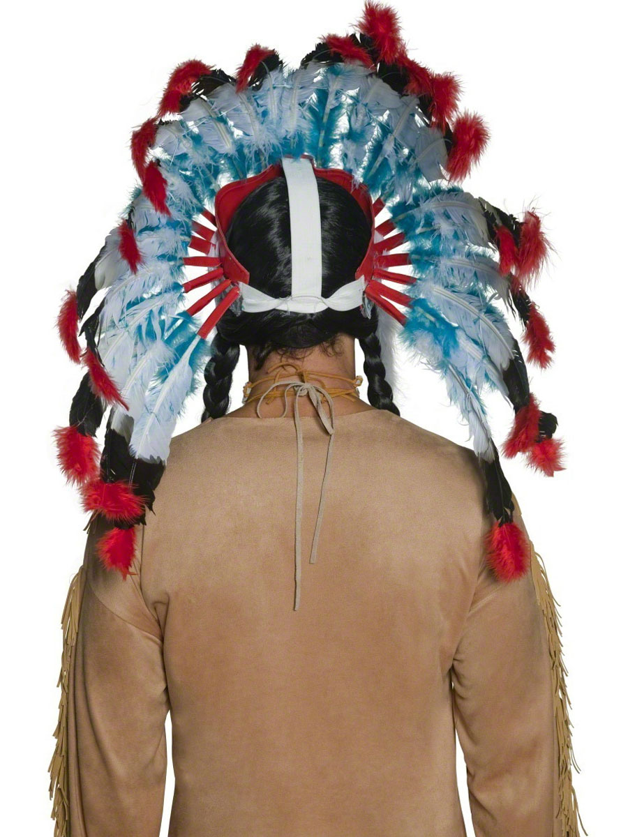 Indian Headdress 36150 Fancy Dress Ball