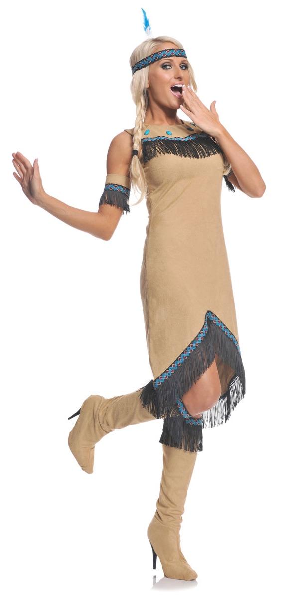 indian maiden costume u29285 fancy dress ball. Black Bedroom Furniture Sets. Home Design Ideas