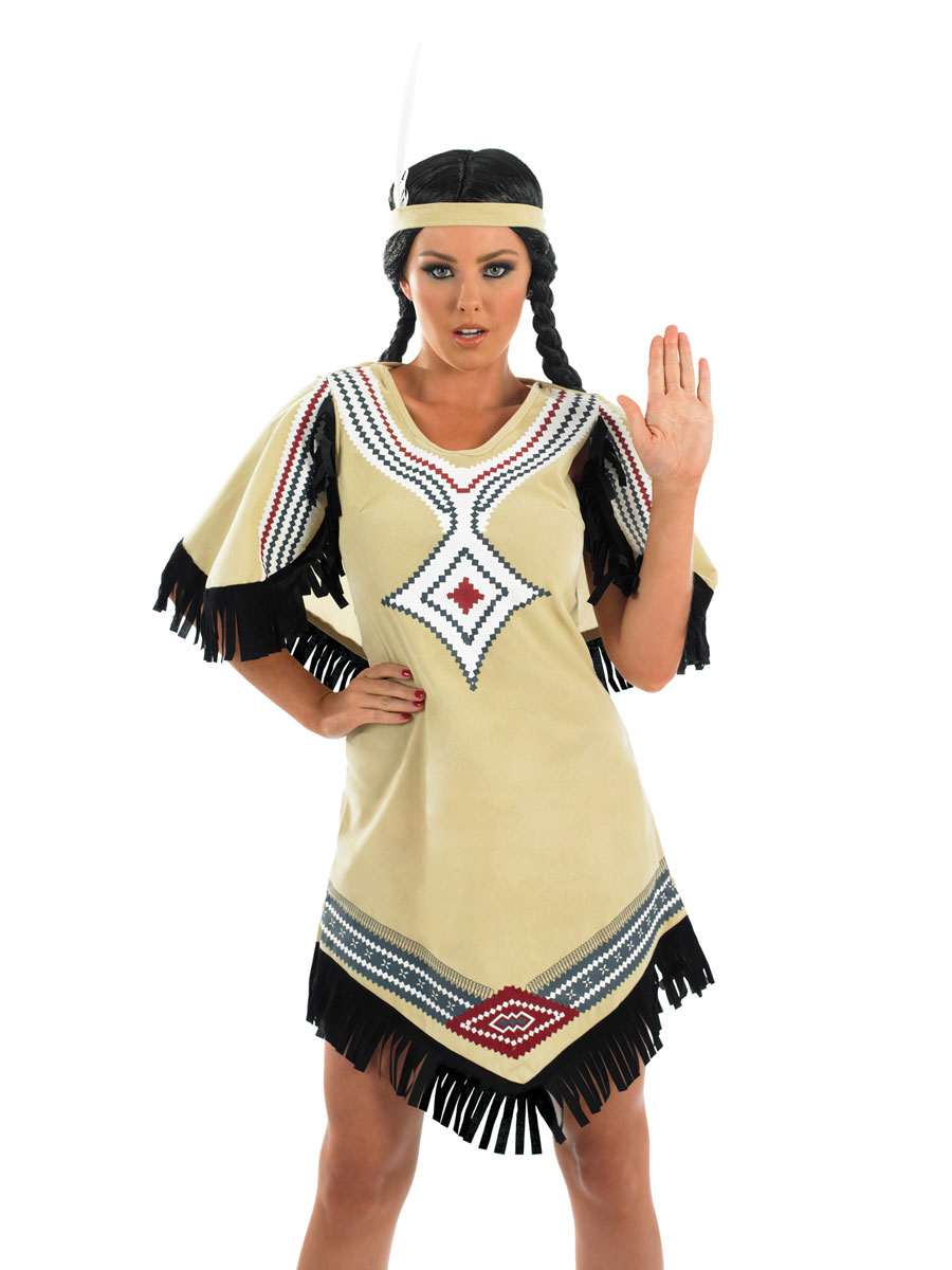 Adult Indian Scout Costume Fs2295 Fancy Dress Ball