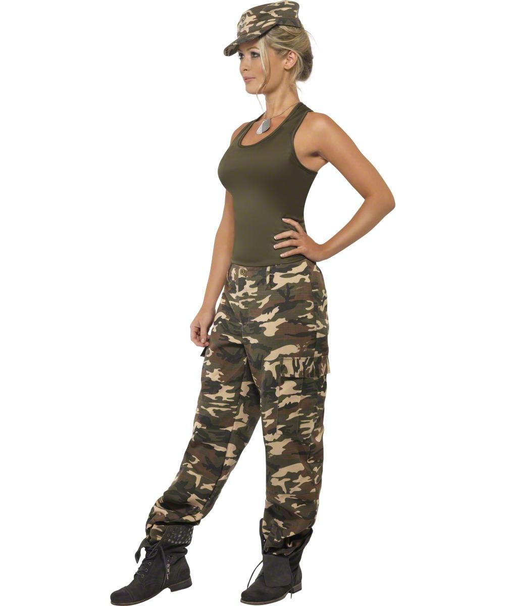 Rambo Costume Ideas Adult Khaki Camo Army ...