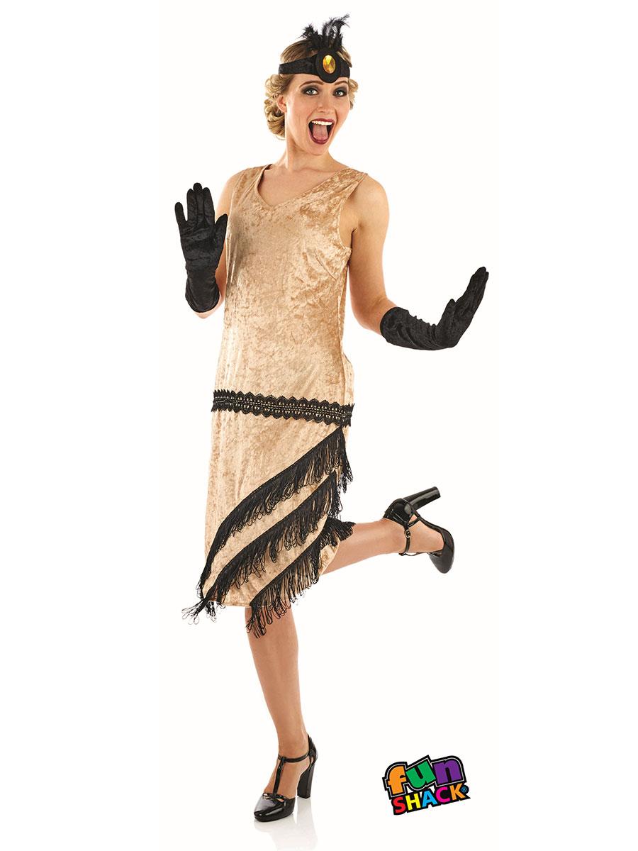 Ladies 20 S Charleston Girl Costume Fs4329 Fancy Dress