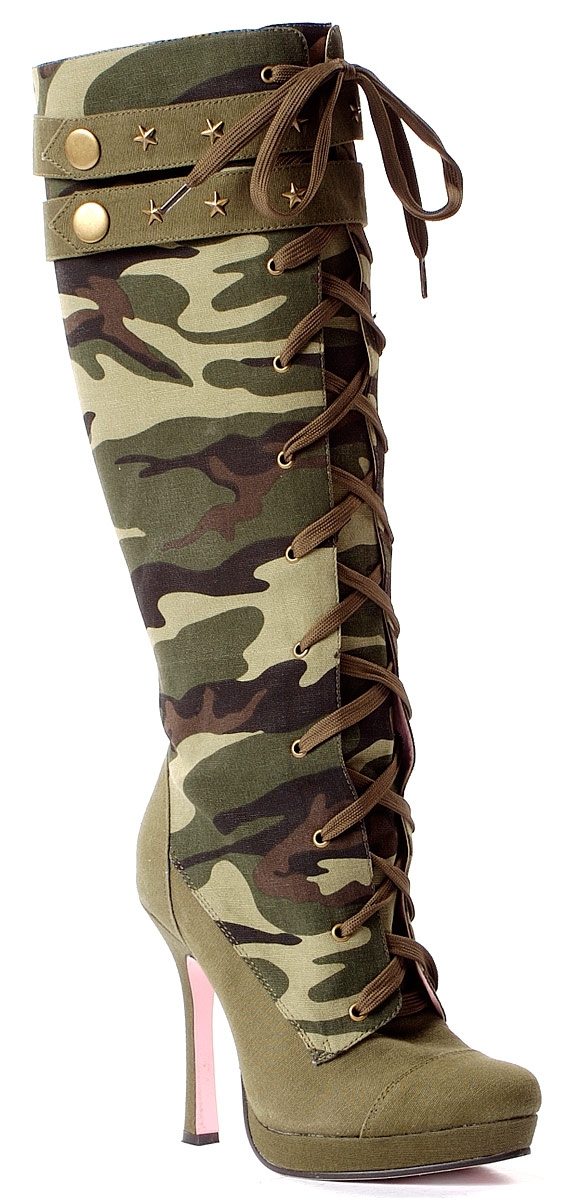 Home > Shoes > Ladies Shoes > Ladies Army Boots