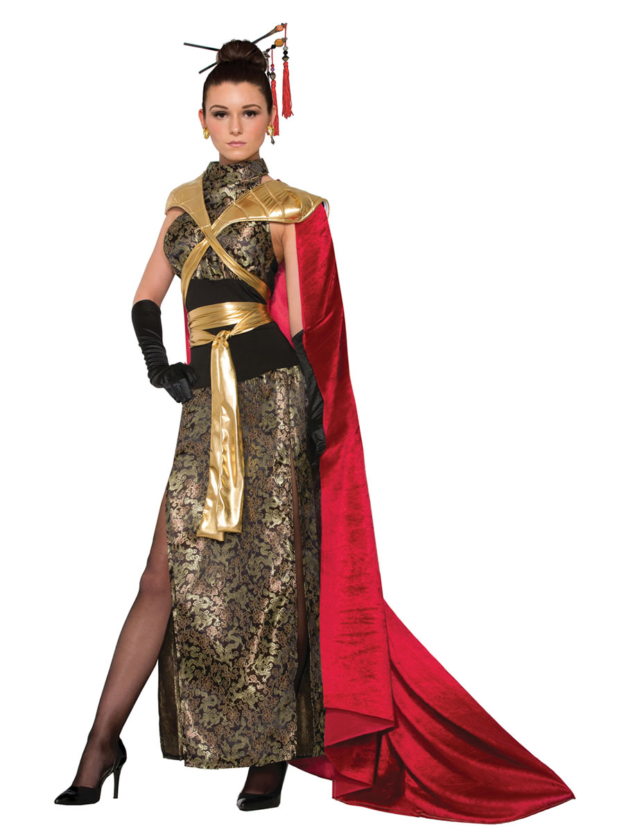 Ladies Dragon Empress Costume Ac78645 Fancy Dress Ball