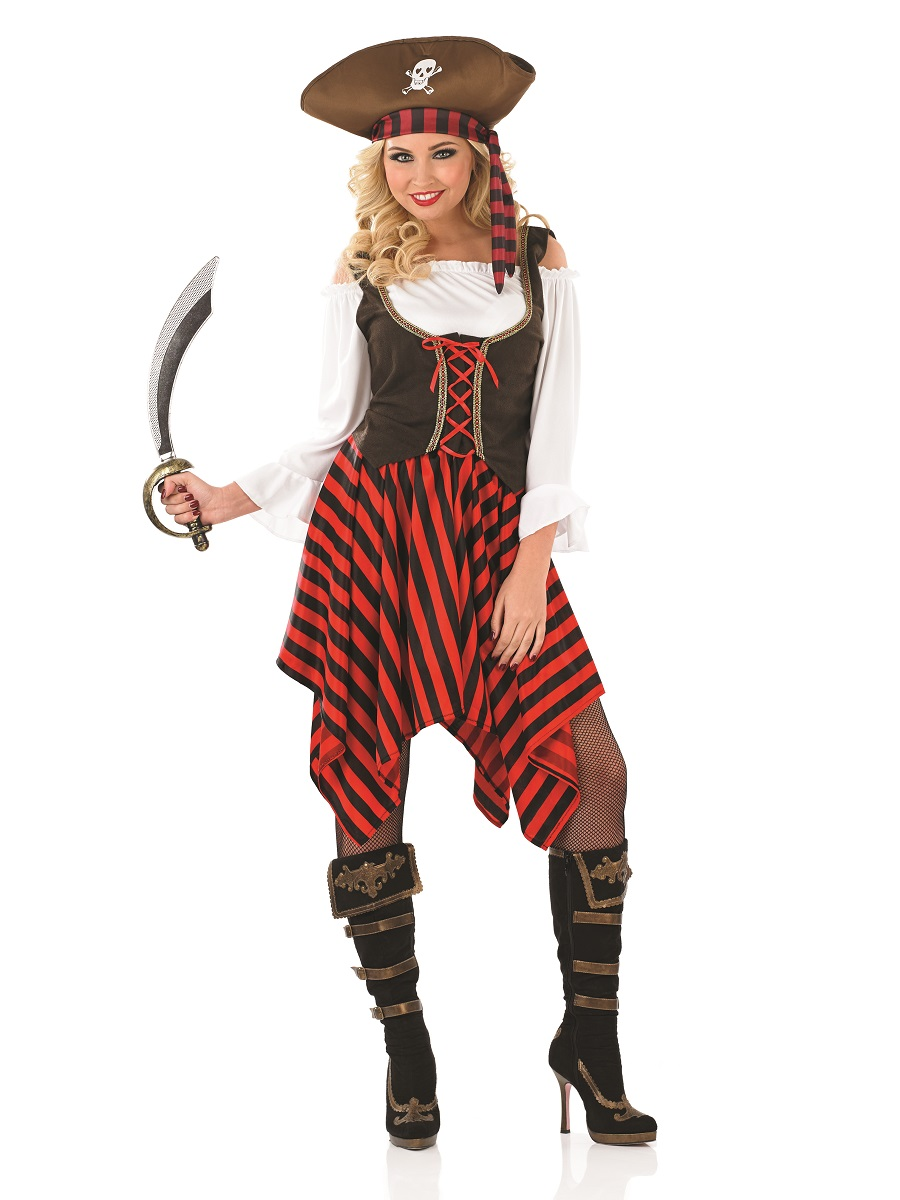 Adult Pirate Girl Costume - FS3699 - Fancy Dress Ball - photo#34