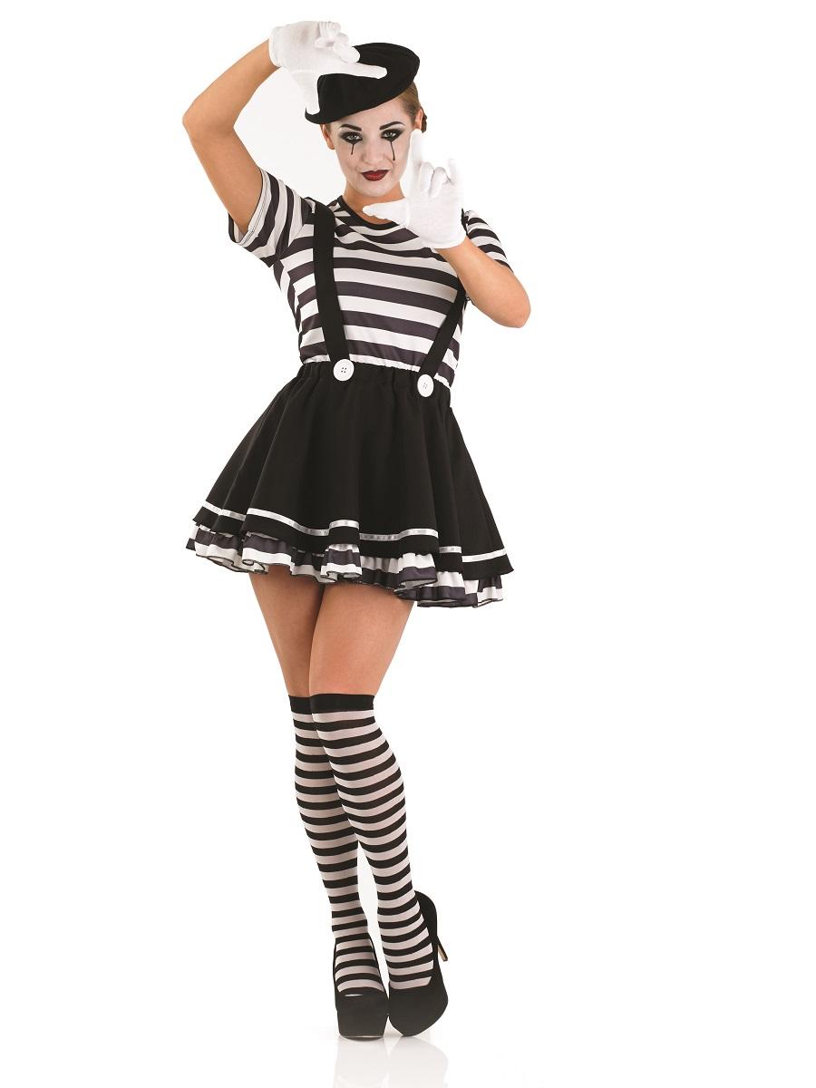 Adult Female Mime Artist Costume  sc 1 st  Fancy Dress Ball & French Fancy dress French Costumes Allo Allo Fancy Dress - Fancy ...