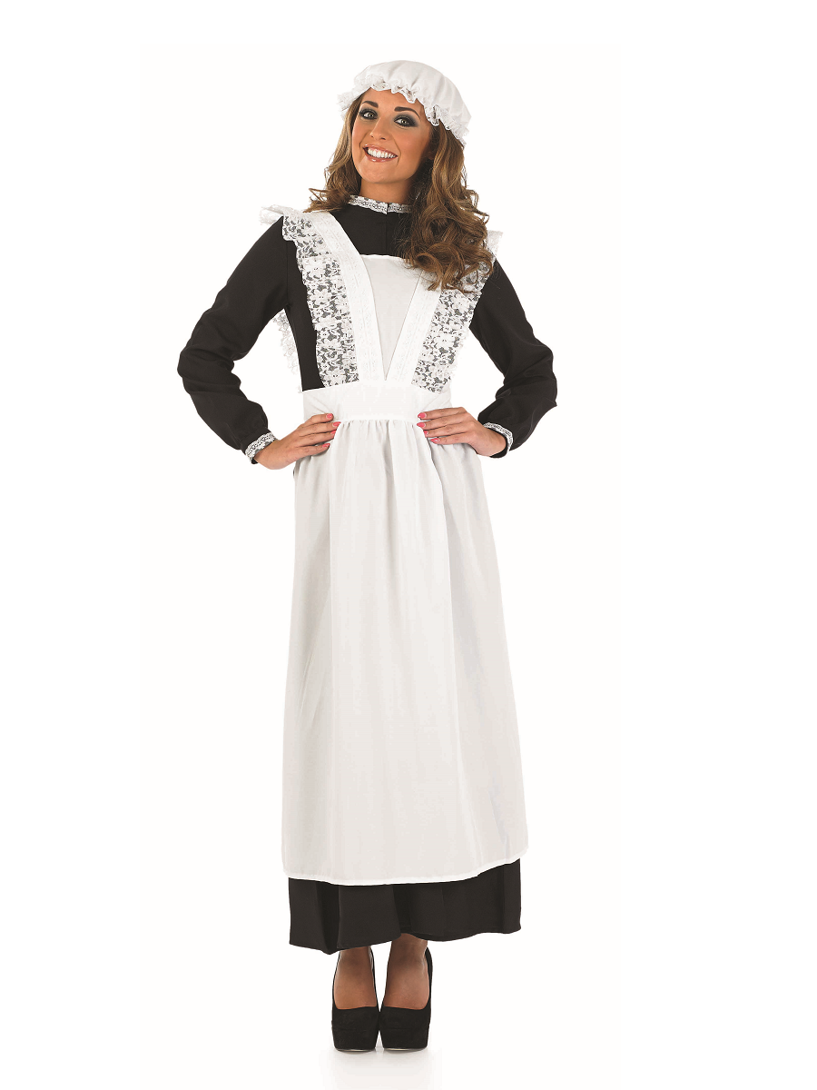 Adult Old Time Victorian Maid Costume - FS3644 - Fancy Dress Ball