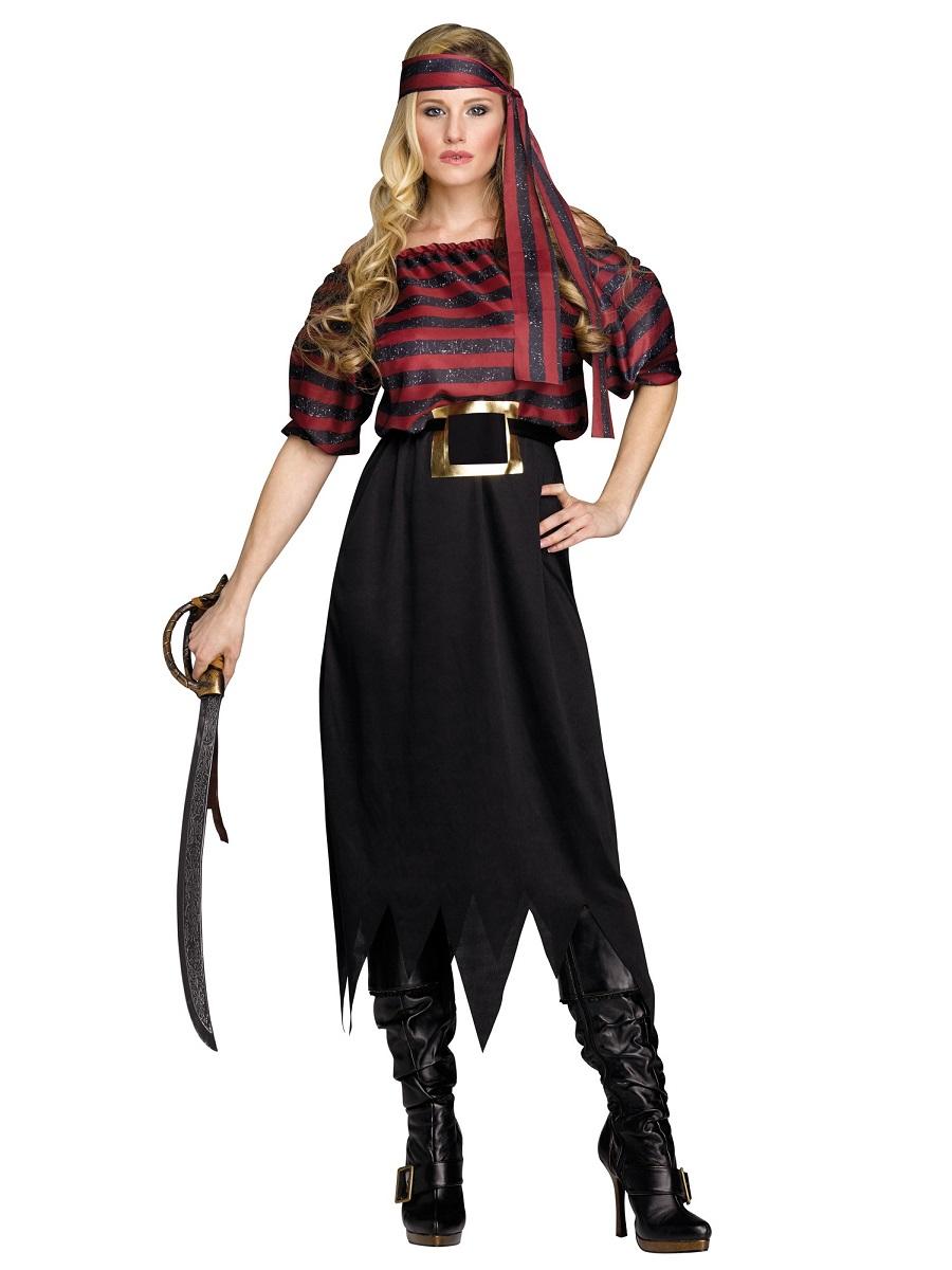 Adult Ladies Pirate Maiden Costume