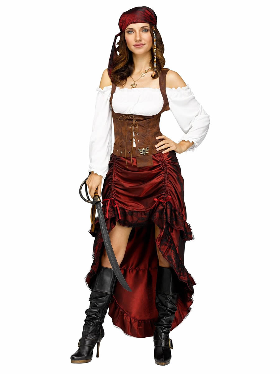 Pirate clothing for women