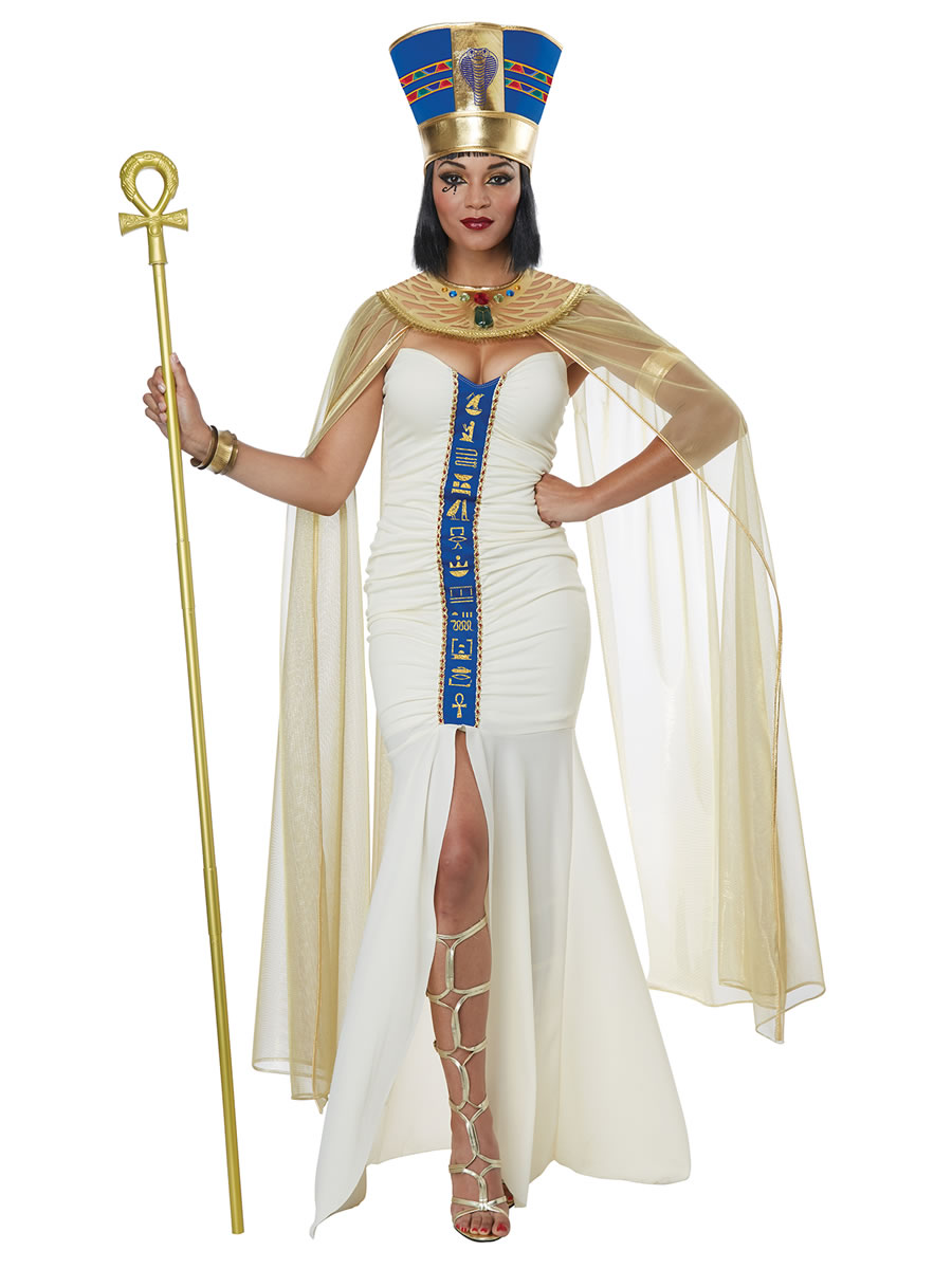 Ladies Queen Of Egypt Costume 01438 Fancy Dress Ball