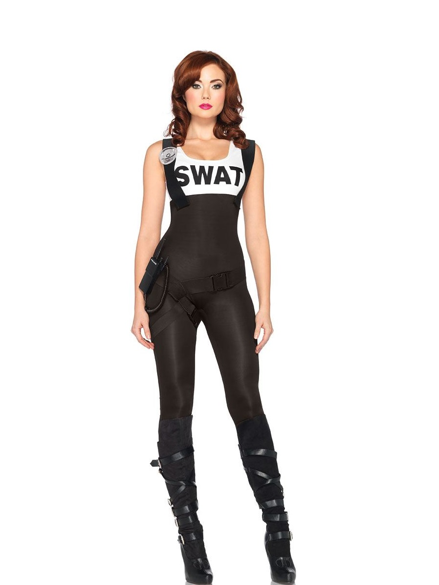 Adult Ladies SWAT Bombshell Costume  sc 1 st  Fancy Dress Ball & Womenu0027s Police Costumes u0026 Fancy Dress Outfits | Fancy Dress Ball